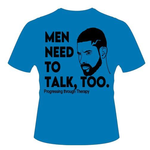 Men Need to Talk Blue